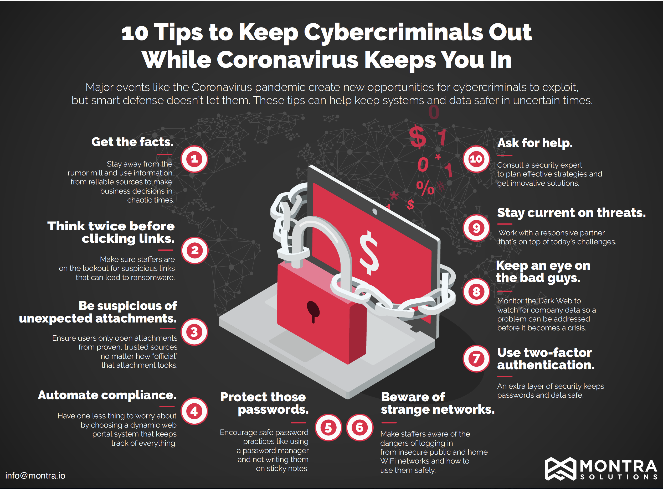10 Tips to Keep Cybercriminals Out